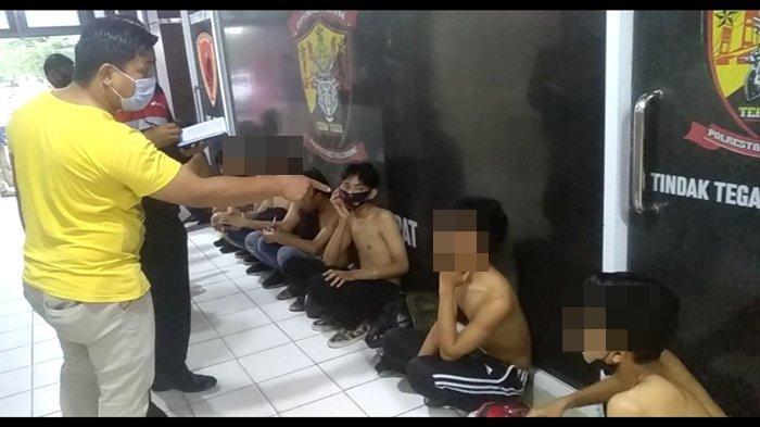 20 Pemuda Diamankan Polrestabes Palembang Jelang Demo Omnibus Law di Kantor Gubernur Sumsel