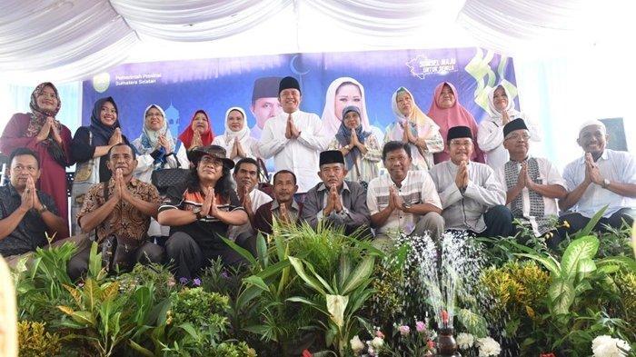 Pulang Kampung, Herman Deru Eratkan Silaturahmi dengan Warga OKU Timur