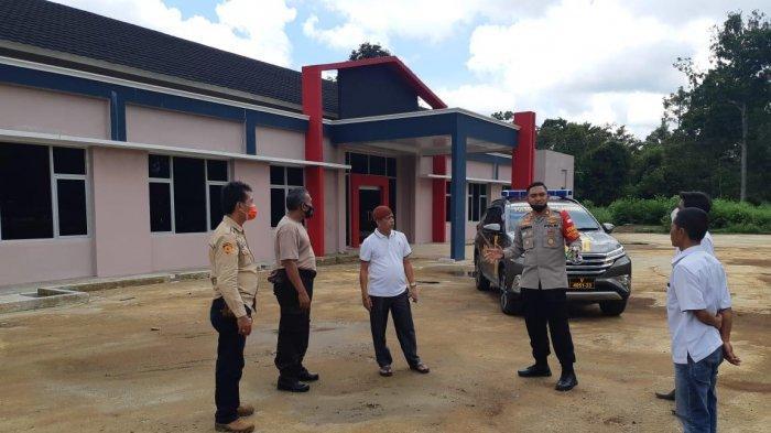 Desa Lebak Budi Hibahkan Tanah Seluas 4 Hektar, untuk Pembangunan PolsekPanang Enim