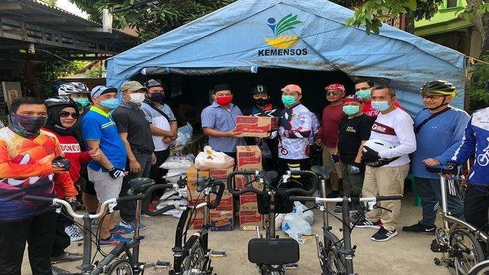 Komunitas ASN Gowes Pemkot Palembang Masuk Lorong ke Lorong Berikan Bantuan & Tampung Aspirasi Warga