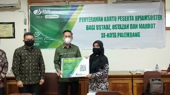 Ustaz Ustazah hingga Marbot di Kota Palembang Mulai Dijamin BPJS Ketenagakerjaan