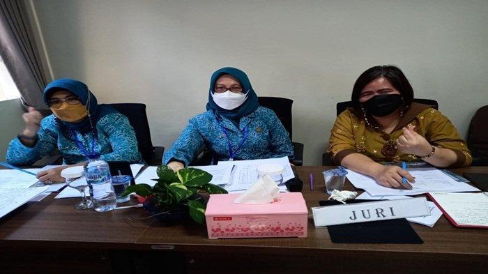 Dewan juri lomba kader PKK se-Sumsel