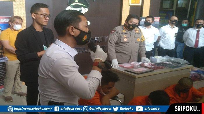 KOMPOL Edi Rahmat 'Panen' Tersangka Kasus 3C, Sepekan Reskrim Polrestabes Palembang Bekuk 16 Pelaku