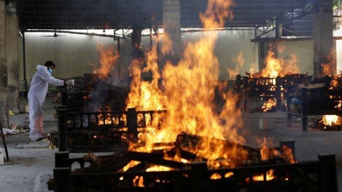 India Saat Ini Mencekam, Mayat Ada Dimana-mana, Pemerintak Kewalahan Tangani Covid-19
