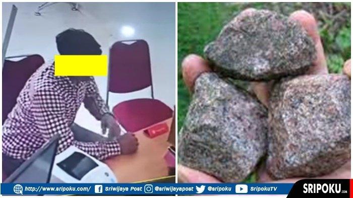 Paket COD Berisi Batu Viral di Kota Lubuklinggau, Pengirim Paket si Pria Baju Kemeja Kotak-kotak