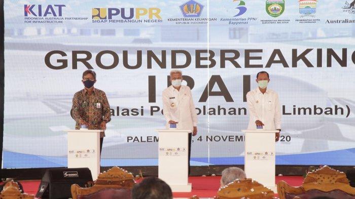 Pembangunan Pesat Sumsel Tarik Perhatian Pemerintah Australia Hibahkan Dana Bangun IPAL di Palembang