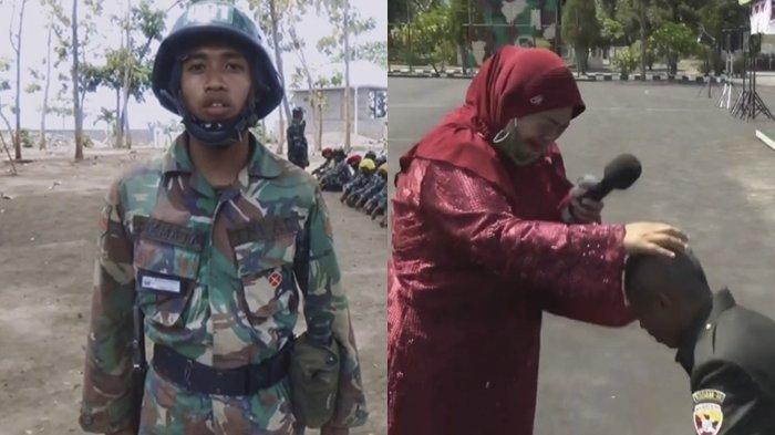 KISAH Prajurit TNI AD 18 Tahun Tak Bertemu Orangtua, Tangis Ibu Pecah saat Hadiri Upacara Pelantikan
