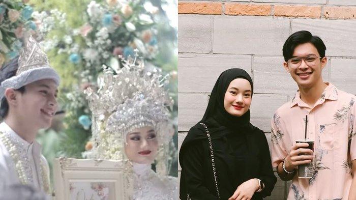 Nikah Muda Tanpa Pacaran, Intip Momen Pernikahan Dinda Hauw dan Rey Mbayang dengan Adat Palembang