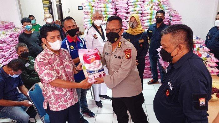 Kapolda tak Ingin Ada Atlet & Pelatih Kelaparan, Dir Intelkam Polda Sumsel Salurkan Bantuan 6 Ton
