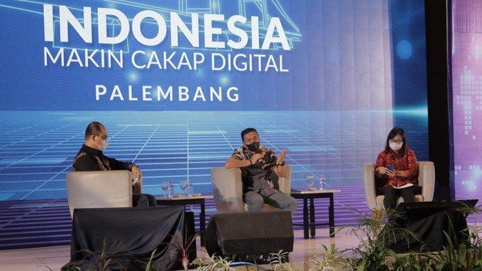Program Literasi Digital, Diskominfo Palembang Ajak Masyarakat Makin Cakap Digital