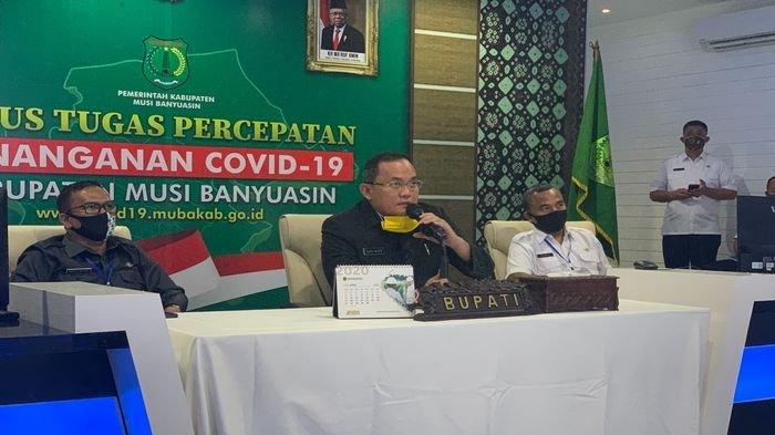 Bupati Muba Dodi Reza Alex Dinobatkan Sebagai Influencer Good Content Award Againts Covid-19