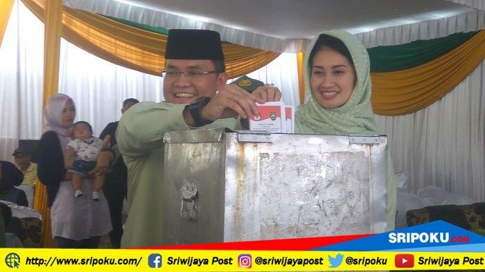Pilkada Sumsel 2018, Dodi Reza Alex-Giri Ramanda Menang Telak di Kabupaten Muba
