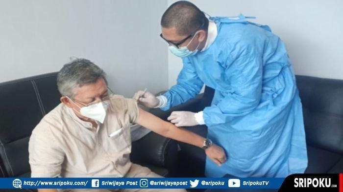 Kota Palembang Dapat 6.080 Vial Vaksin, Vaksinasi Tahap Kedua, Untuk Lansia dan Layanan Publik