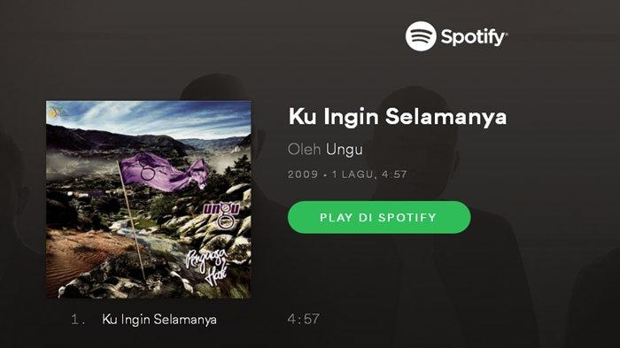 Download Lagu KuInginSelamanya - Ungu, Lirik Lagu Penuh Arti 'Cinta Adalah Misteri Dalam Hidupku'