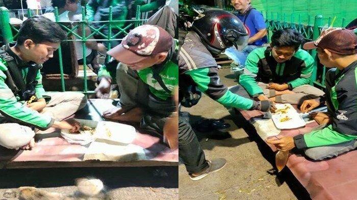 Viral, Driver Ojol Makan Bersama Usai Dapat Orderan Fiktif Ayam Geprek, Ternyata Bukan Pertama Kali