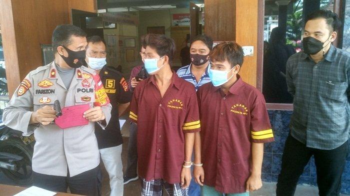 Bekal Softgun dan Pisau, 5 Perampok di Palembang Ini Rampas Handphone Pemuda: 2 Orang Ditangkap