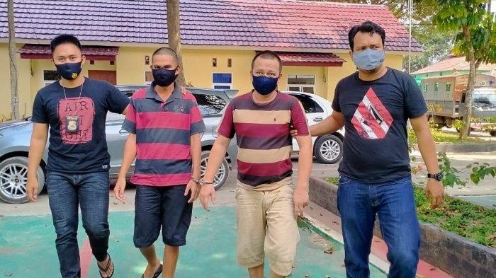 2 PNS di Pemkab OKU Selatan Pesta Narkoba, Digerebek Langsung Wakapolres Kompol MP Nasution