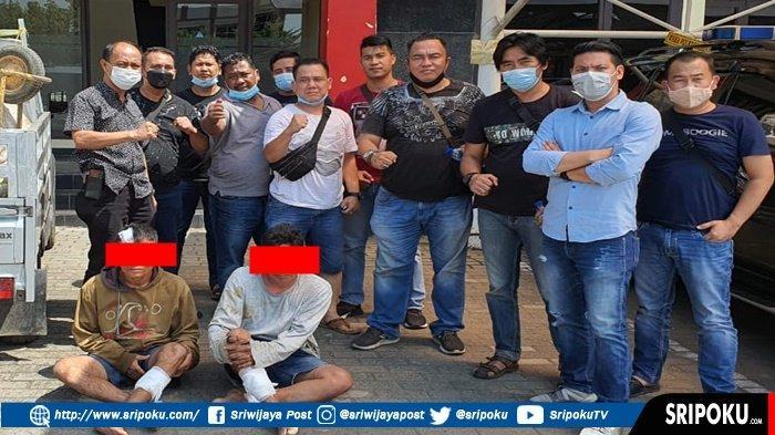 Ini Wajah Pelaku Bajing Loncat yang Meresahkan Sopir-sopir di Palembang, Keok Ditembak Bang Burgap