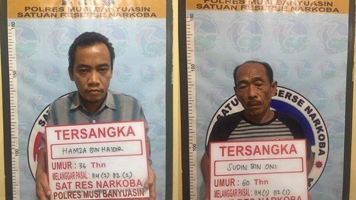 Dua Pengedar Narkoba di Musi Banyuasin Ditangkap, Ditemukan 38 Paket Siap Edar