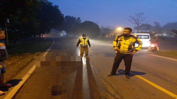 Polisi Temukan Serpihan Kaca dan Goresan di Aspal, Update Mayat di Depan Stadion Segitiga Emas OKI