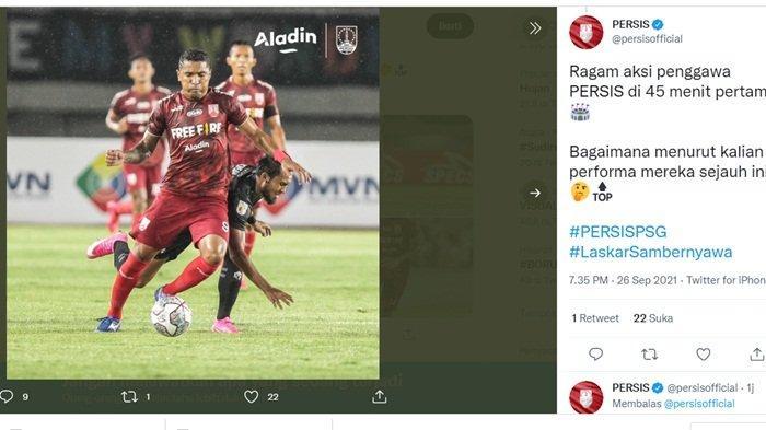 Ada Peran Eks Sriwijaya FC Saat Persis Solo Bungkam AHHA PS Pati, Alberto Goncalves Sumbang 1 Gol