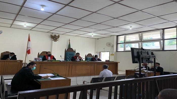 Mantan Camat Hadiri Sidang Sebagai Saksi Pemalsuan Surat Tanah di Jalan Pertahanan SU II Palembang