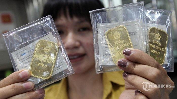 Turun Rp 5.000, Berikut Harga Emas Antam Hari Selasa 8 September 2020 di Angka Rp 1.015.000 per Gram
