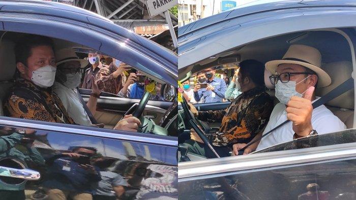 Ridwan Kamil Tak Ada Ide Saat Lihat Aldiron Plaza Cinde, Kang Emil Pasangkan Seat Belt ke Tubuh Deru