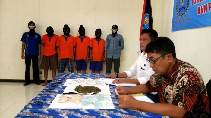 Empat Residivis Bandar Narkoba Diamankan BNN Bangka Belitung