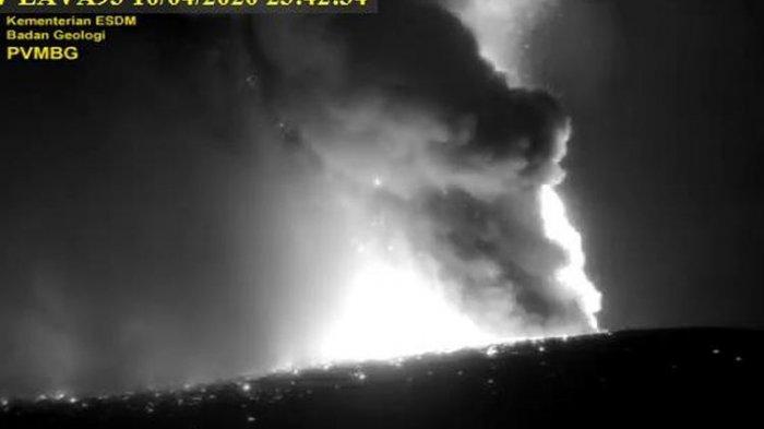 Letusan Gunung Anak Krakatau di Lampung tak Picu Tsunami
