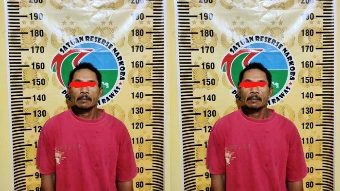 Buang Bungkus Kemasan Es Krim, Begitu Dibuka Ternyata Berisi Sabu, Pria di Musirawas Ditangkap