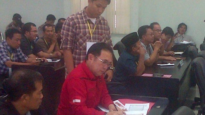 ESP Pantau Langsung Rekapitulasi Pilpres di KPU Palembang