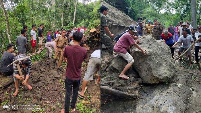 Gawat, Jalan Penghubung Pendopo-Bengkulu Terancam Lumpuh 24 Jam, BPBD Empatlawang Beberkan Sebabnya