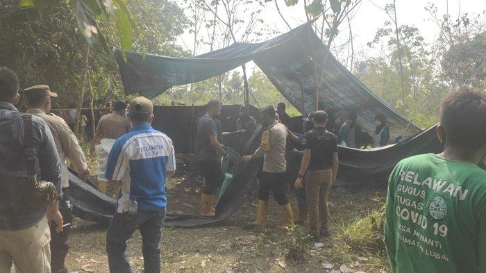 Parsidi Warga Muba Dikeroyok dan Dikubur 3 Pria di Desa Menanti Muaraenim, Sudah Hilang Sejak Mei