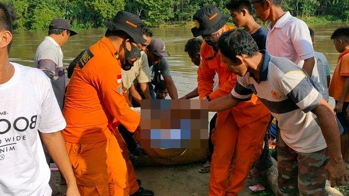Tubuh Iwan Sukma Warga Desa Lubuk Keliat Ditemukan Usai Tenggelam Saat Cari Ikan