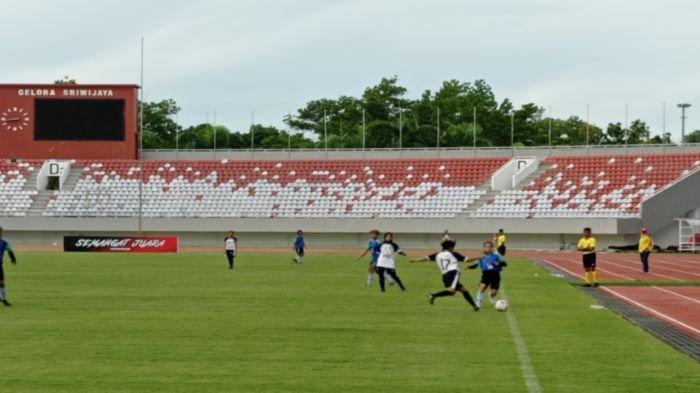 Tim Sepak Bola Putri Bina Sentra FA Juara Grup A Women Sriwijaya FC Championship