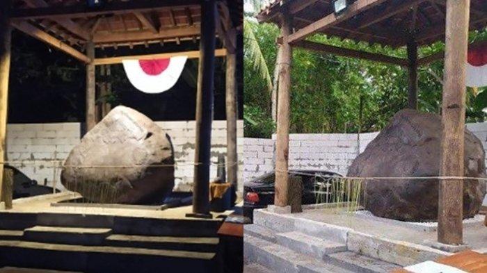 FAKTA Kepalsuan Batu Prasasti Keraton Agung Sejagat Terungkap, Cuma Batu Biasa Jiplak dari Google!