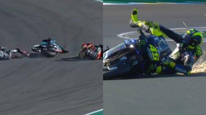 Fakta Kutukan Rossi, Quartararo atau Kesialan Tim Yamaha di Sirkuit Ricardo Tormo