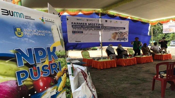 Farmer Meeting, PUSRI Cetak Millennials Agrosolution
