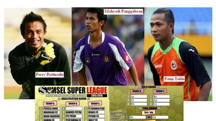 Toldo-Ferry-Mahyadi, Show Para Bintang ISL di Sumsel Super League