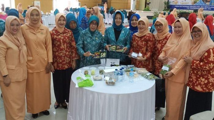 DWP Dinas Pendidikan OKU Sabet Juara 1 Festival Pangan Lokal Beragam, Bergizi, Seimbang dan Aman