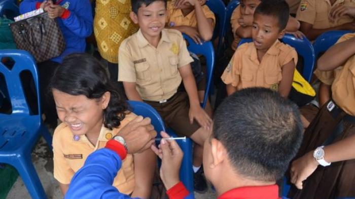Pasca MUI Cabut Status Haramnya, Kini Disdik Palembang Izinkan Imunisasi MR ke Sekolah