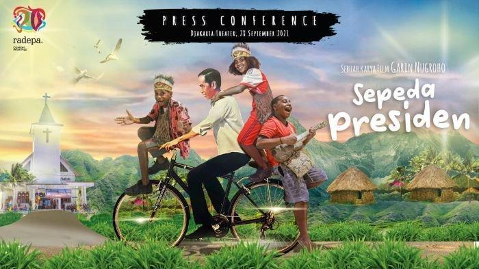 Aksi Bagi Sepeda Ala Jokowi Jadi Film Diperankan Ariel Tatum Segera Tayang di Bioskop Ini Bocorannya