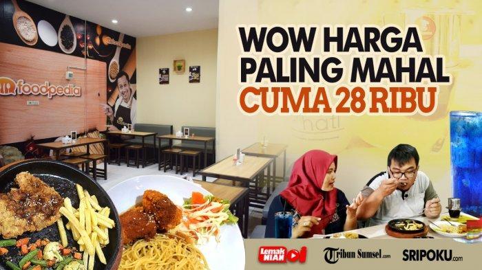 Foodpedia Sudirman, Tempat Makan & Nongkrong Baru di Palembang, Pasti Kaget Lihat Fasilitasnya