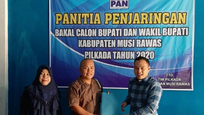 Ketua DPRD Lubuklinggau Niat Nyalon Bupati di Musirawas, Ambil Formulir di Golkar dan PAN