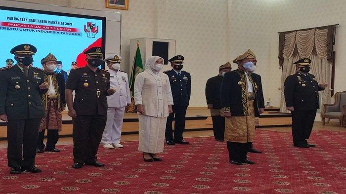 Momentum Hari Lahir Pancasila, Walikota Gunakan Busana Kesultanan Palembang Darussalam