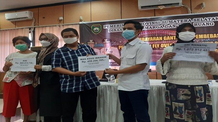 Ganti Untung 16 Persil Flyover Sekip Palembang Sudah Cair, Total Anggaran Bebas Lahan 80 Miliar