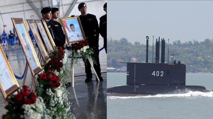 40 Hari KRI Nanggala, Bodi Kapal Tempat Bersemanyam 53 Kru Hilang Misterius, Pencarian Dihentikan