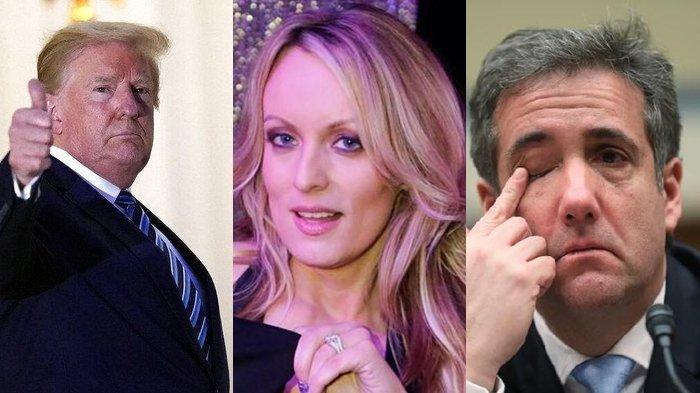 Dugaan Trump Suap Bintang Porno Rp 1 Miliar Agar Asmaranya Tak Bocor Ditutup, Eks Pengacara Meradang