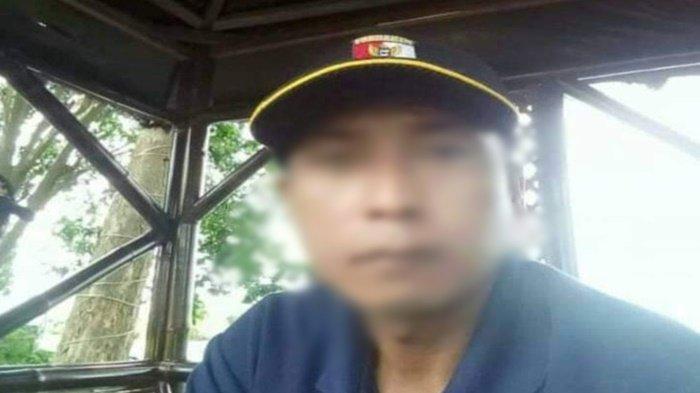 Foto korban Tumiran yang ada dalam postingan yang beredar di media sosial Facebook.
